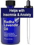 Radha Beauty Lavender Essential Oil – 100% Pure & Natural Therapeutic Grade!