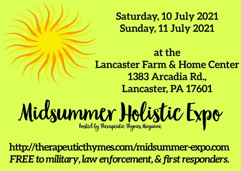 The Midsummer Holistic Expo @ Lancaster Farm & Home Center